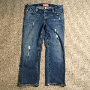 Abercrombie & Fitch crop/capri jeans 32x24.5